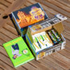 Tangermünder Kreativ-Box, Kreativbox, Buch intuitiv kreativ!, DeutschLand-Riegel, blackbar, Paket, Kugelschreiber, Magnetbutton