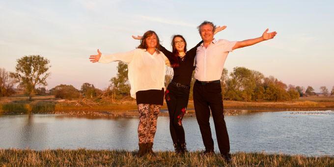 Familie Land-Snack, Familienfoto